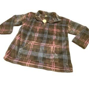 NWT Oddy plus size soft zip sweater 1XL